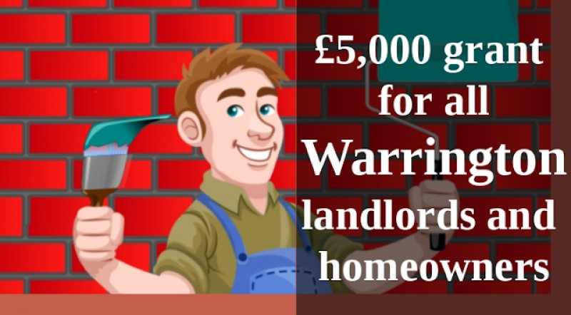 Every Warrington Homeowner & Landlord to Receive Up to £5,000 Grant for Roof Insulation & Double Glazing from September
