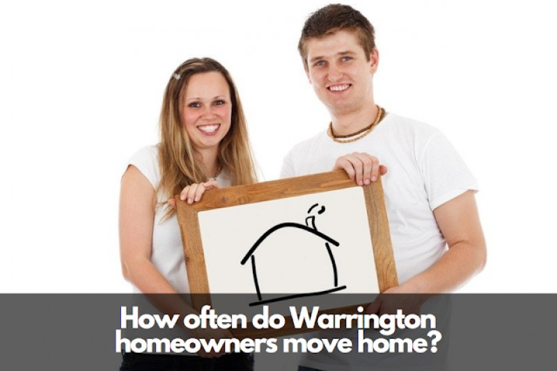 Half of Warrington Homeowners Move Again Within 5 Years and 39 Weeks – Why?